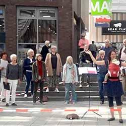 """""""älter & besser"""" Langenhorn auf dem Langenhorner Markt"""