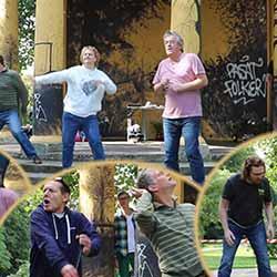 """Theatergruppe """"Spektakula"""" im Haynspark in Eppendorf"""